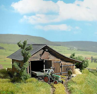 Busch Old Wooden Barn 1508 HO Scale (suit OO also)