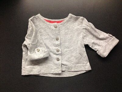 Baby Girl Button Up Sweater- Age 6m