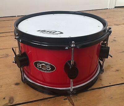 """PDP 805 10x6"""" Snare drum in red lacquer"""