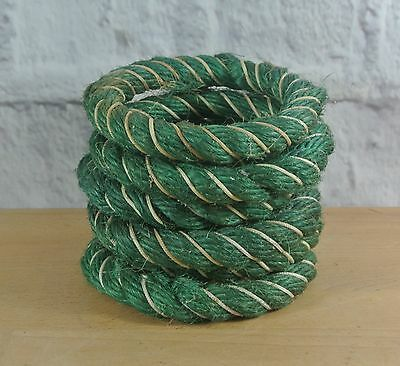 Vintage QUOITS Rope Rings Set of 6 Outdoor Retro Game 1960s