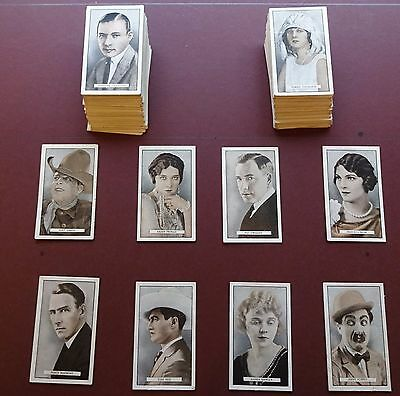 Cinema Stars Issued 1926 By Gallaher Set 100
