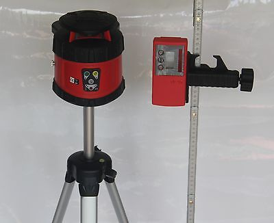 Automatic Rotary laser level 205B   tripod and 2m rule