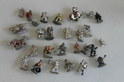 Job Lot Of Warhammer And Other Type Of Metal Figures.