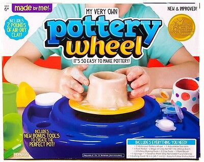 Pottery Wheel For Kids / Made By Me / Brand New In Box!!