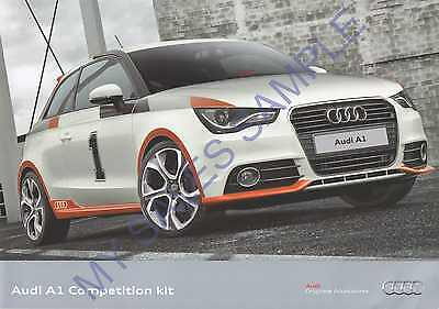 Audi A1 Competition Kit unknown Year (NL) 4 Sided Brochure (NO5)