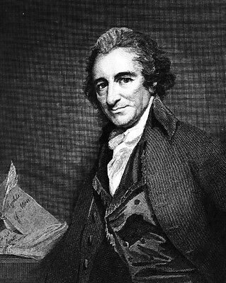 New 8x10 Photo: American Revolution Founding Father and Pamphleteer Thomas Paine