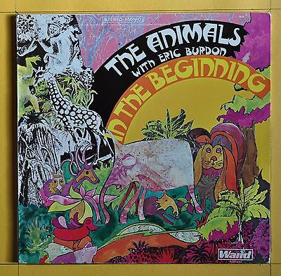 Original Press The Animals In The Beginning Wand WDS 690  United States  1970