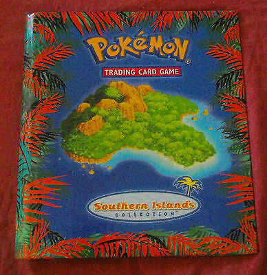 pokemon lot complete southern islands english 18 cartes. Black Bedroom Furniture Sets. Home Design Ideas