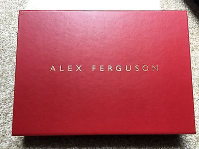Limited edition Signed Alex Ferguson autobiography 616/1000 Manchester United