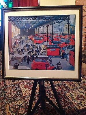 4 Framed Royal Mail Pictures