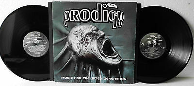 The Prodigy Music For The Jilted Generation, 2 Vinyl EX | LP UK 1994 / XLLP 114