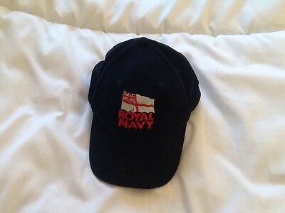 Royal Navy Peaked Cap - One Size fits all