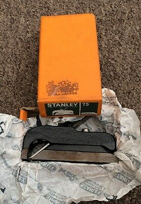 STANLEY (England) No.75 Bullnose Rabbet - Shoulder Plane * BOXED*