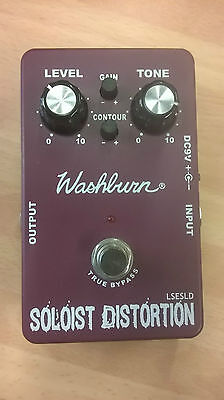 Washburn SOLOIST DISTORTION electric guitar effects pedal, great roc