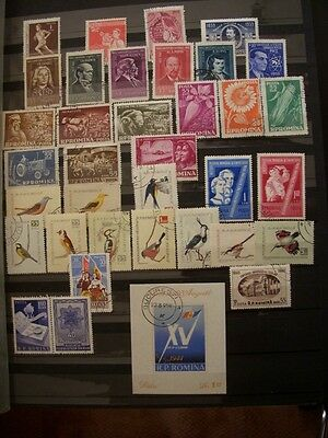 Romania  Old  Used  Stamps -Small Acumulation -Years 1959
