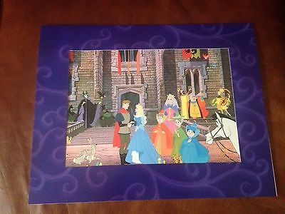 Walt Disney's Sleeping Beauty Special Edition Lithograph Print