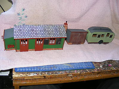 Narrow Gauge Station Buildings 10mm/ft or 1:32nd scale