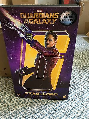 Hot Toys Star Lord Guardians of The Galaxy 1:6 MMS255  Special Version Exclusive