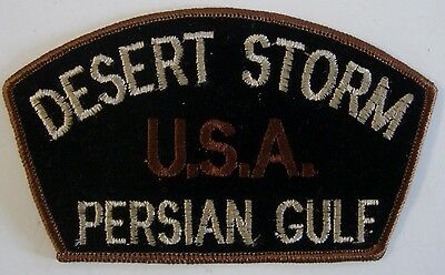 Vintage Desert Storm USA Persian Gulf Military Patch