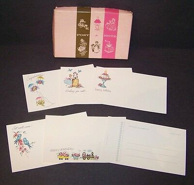 Vintage Post A Note Greeting Post Cards 22 Count