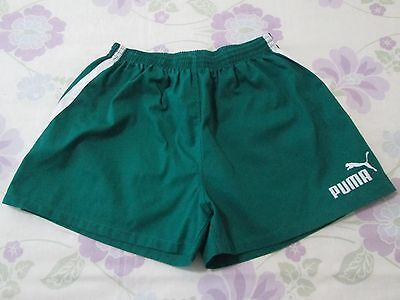 Puma rugby shorts size L green colour