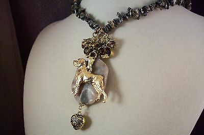 ROTTWEILER - Dog -ju1--Jewelry-HOT SALE-NECKLACE-USArtisan -FREE SHIP!