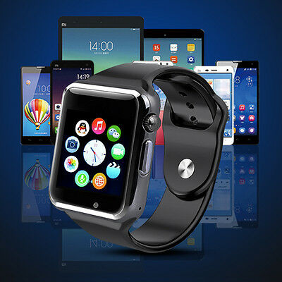 Dz09 Montre Bluetooth GSM SIM Smart WATCH Android iPhone Samsung WhatsApp blanc