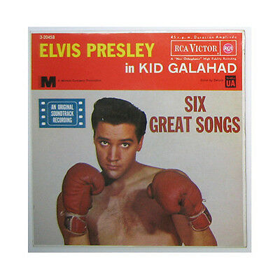 "VINILOS. Single: Elvis Presley con Jordanaires ""KID Galahad"" (1961)"