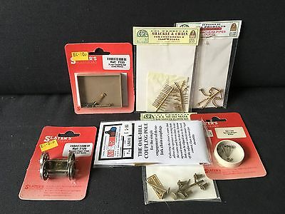O Gauge 7mm scale rolling stock components for detailing and kit building