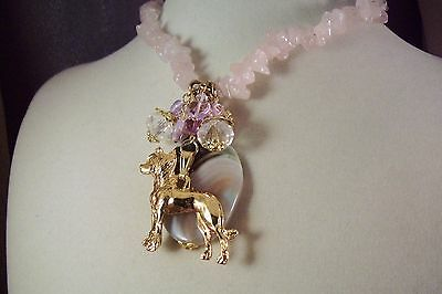 CHINESE CRESTED -DOG -ap23--HOT SALE-NECKLACE-Jewelry -USArtisan Made -FREE SHIP
