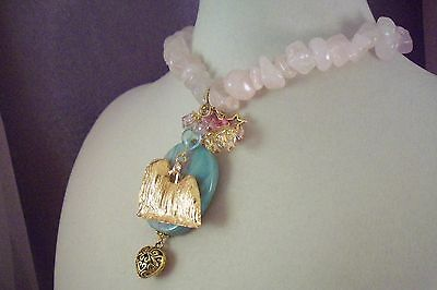 LHASA APSO -Dog -jl4-Jewelry-HOT SALE-NECKLACE-Made by USArtisan-FREE SHIP!