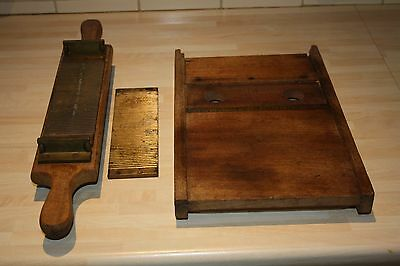 Vintage Apothecarys Tablet Forming Frame