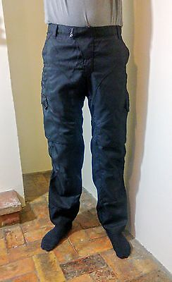 """Alpinestars Black Label Relaxed Fit Black Motorcycle Trousers Size 34"""""""
