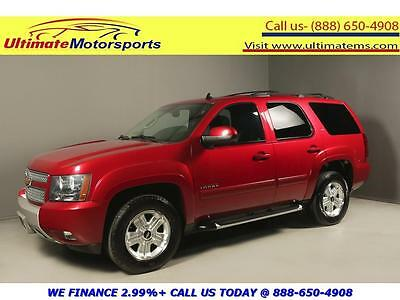 2013 Chevrolet Tahoe LT Sport Utility 4-Door 2013 CHEVROLET TAHOE LT Z71 OFF-ROAD PKG LEATHER HEATSEAT RCAM RED WARRANTY