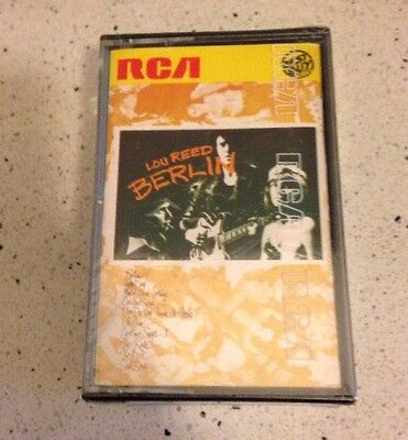 Lou Reed Berlin MC Cassette Tape  Sigillata Sealed Made In Italy Yk43605