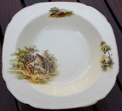 "Vintage Alfred Meakin ""The Rest"" Soup / Cereal Bowl"