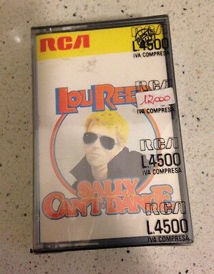 Lou Reed Sally Can't Dance MC Cassette Tape  Sigillata Sealed Made In Italy