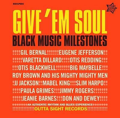 GIVE 'EM SOUL Various Artists NEW R&B NORTHERN SOUL LP VINYL (OUTTA SIGHT)