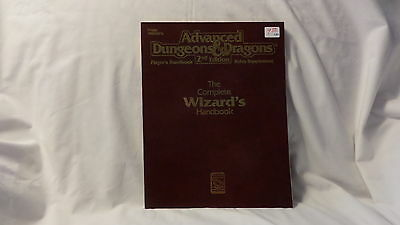The Complete Wizard's Handbook, Advanced Dungeons & Dragons 2nd, Great Condition