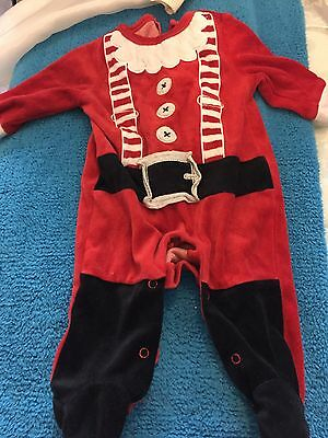 santa baby outfit 3-6m