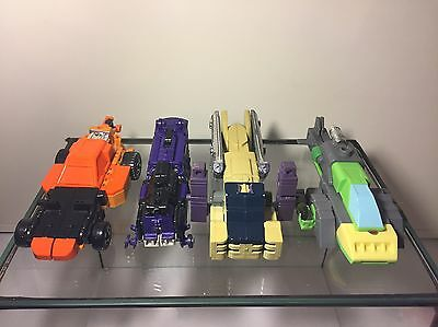 Transformer G1 Triple Changer Bundle Sandstorm-Astrotrain -Octane-Springer❗️RAR