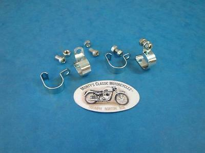 Genuine Triumph Breather Pipe Clip Set 83-1615 1970-78 T100R T120 T140