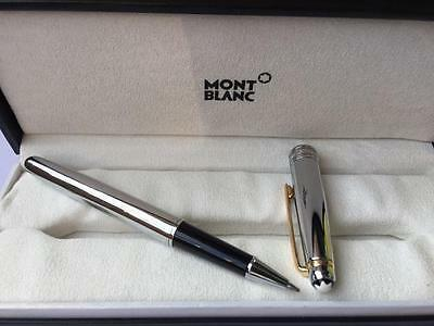 New Brand luxurious pen high quality Silver  rollerball  pen in box