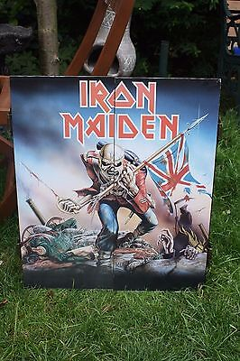 Iron Maiden The Trooper Dartboard and Cabinet