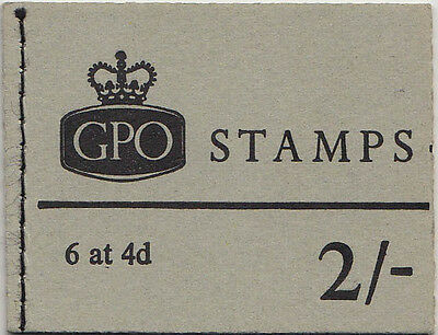 1969 2/- Stamp GB Booklet NP33 (656)