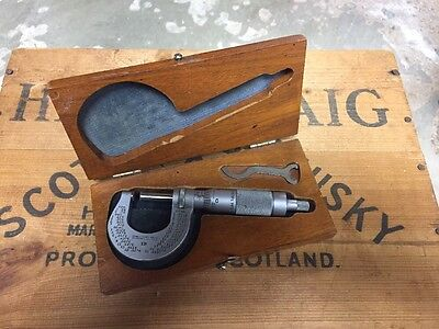 Brown and Sharpe No. 13 Micrometer For Machinist Toolmaker