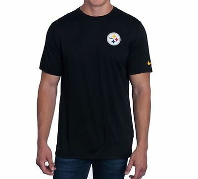 Pittsburgh Steelers NFL American Football Nike Dri-Fit T-Shirt Black XXL