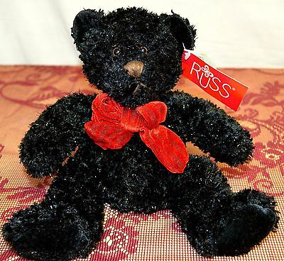 Collectible Stuffed Teddy Bear by Russ NWT InkSpot