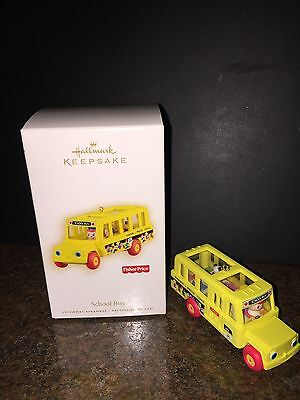 Hallmark Keepsake School Bus Ornament