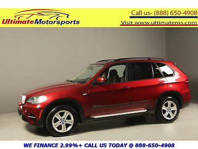 2011 BMW X5 xDrive35d Sport Utility 4-Door 2011 BMW X5 xDrive35d DIESEL AWD NAV PANO LEATHER HEATSEAT RCAM WOOD RED